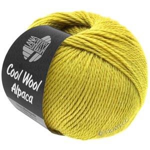 Lana Grossa COOL WOOL Alpaca | 43-yellow green
