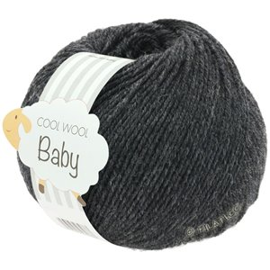 Lana Grossa COOL WOOL Baby 25g | 205-anthracite