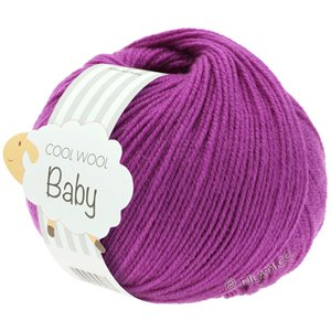Lana Grossa COOL WOOL Baby 25g | 236-cyclamen