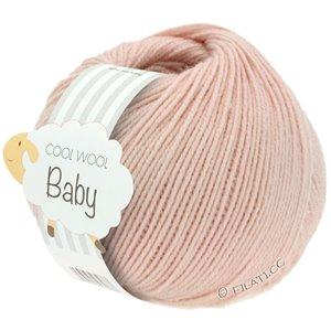 Lana Grossa COOL WOOL Baby 25g | 246-powder rose