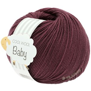 Lana Grossa COOL WOOL Baby 25g | 262-burgundy