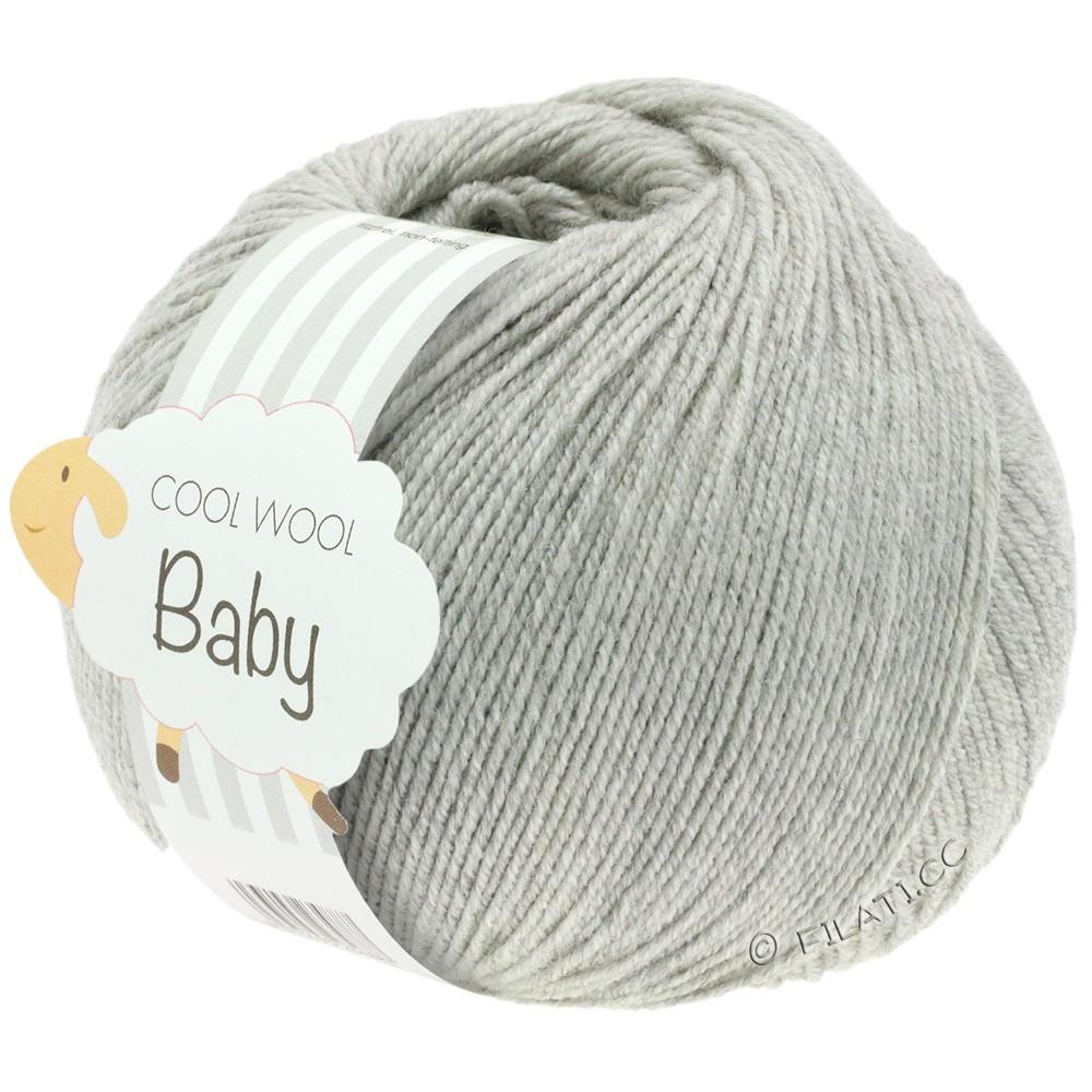 Lana Grossa COOL WOOL Baby | 206-light gray mix