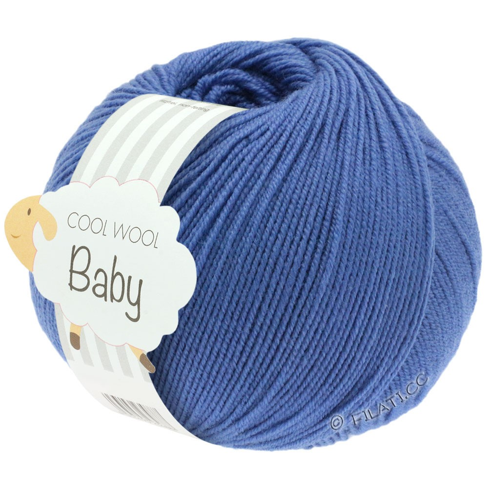 Lana Grossa COOL WOOL Baby Uni/Degradè | 209-blue