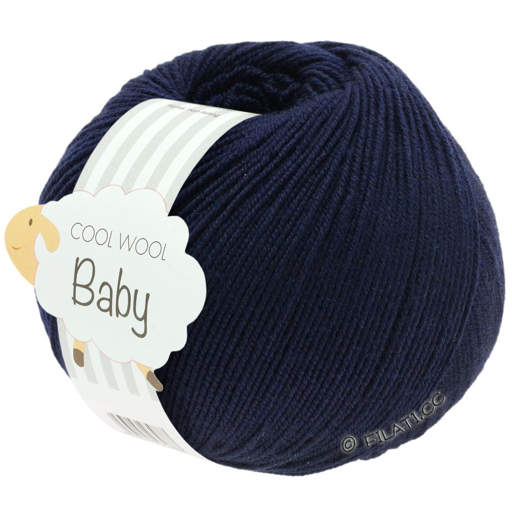 Lana Grossa COOL WOOL Baby Uni/Degradè | 210-midnight blue