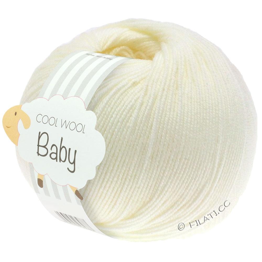 Lana Grossa COOL WOOL Baby | 213-raw white