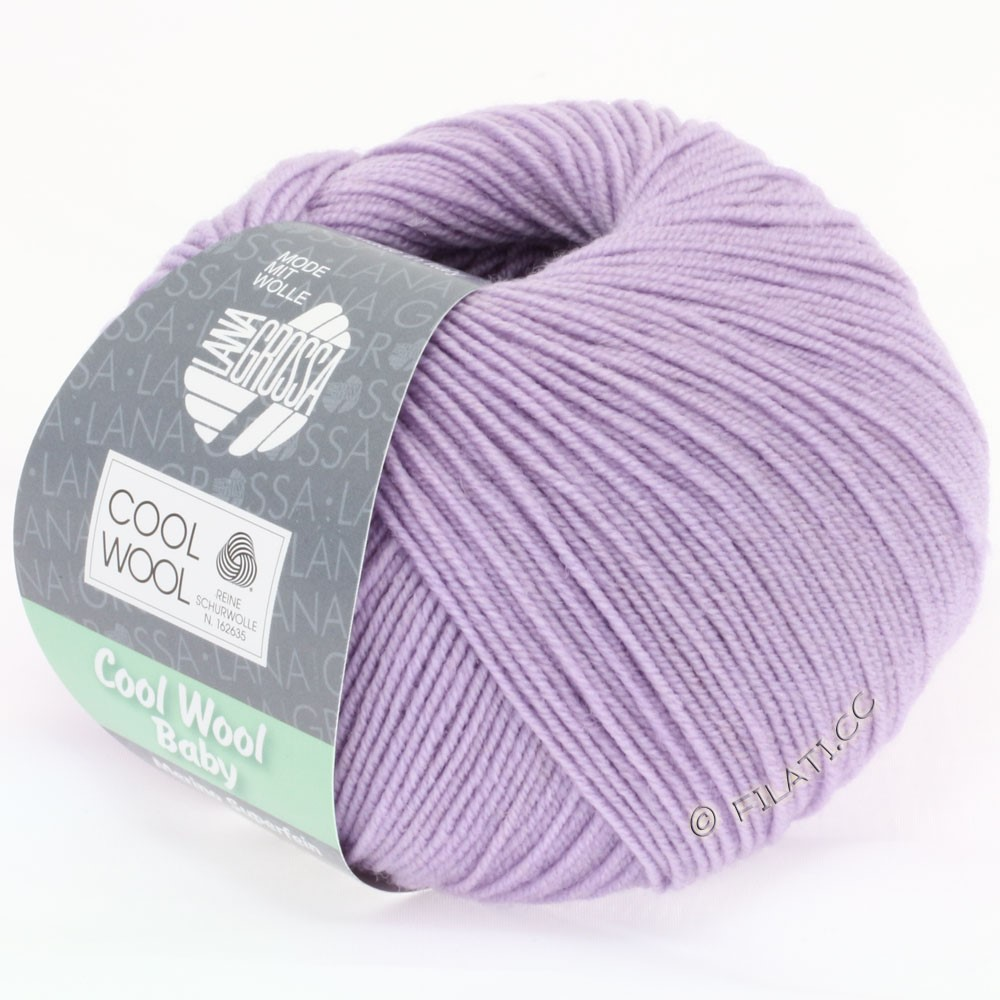 Lana Grossa COOL WOOL Baby | 215-lilac