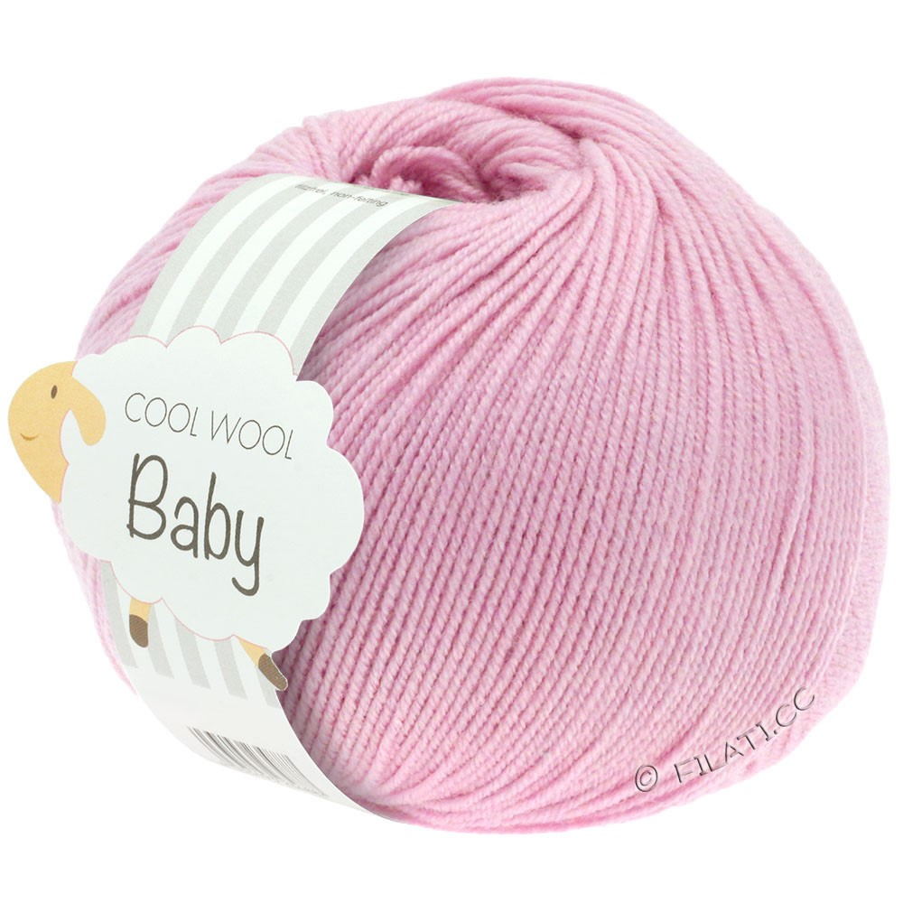 Lana Grossa COOL WOOL Baby Uni/Degradè | 216-pink