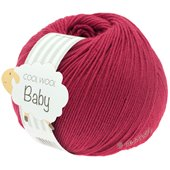 Lana Grossa COOL WOOL Baby | 220-cardinal red
