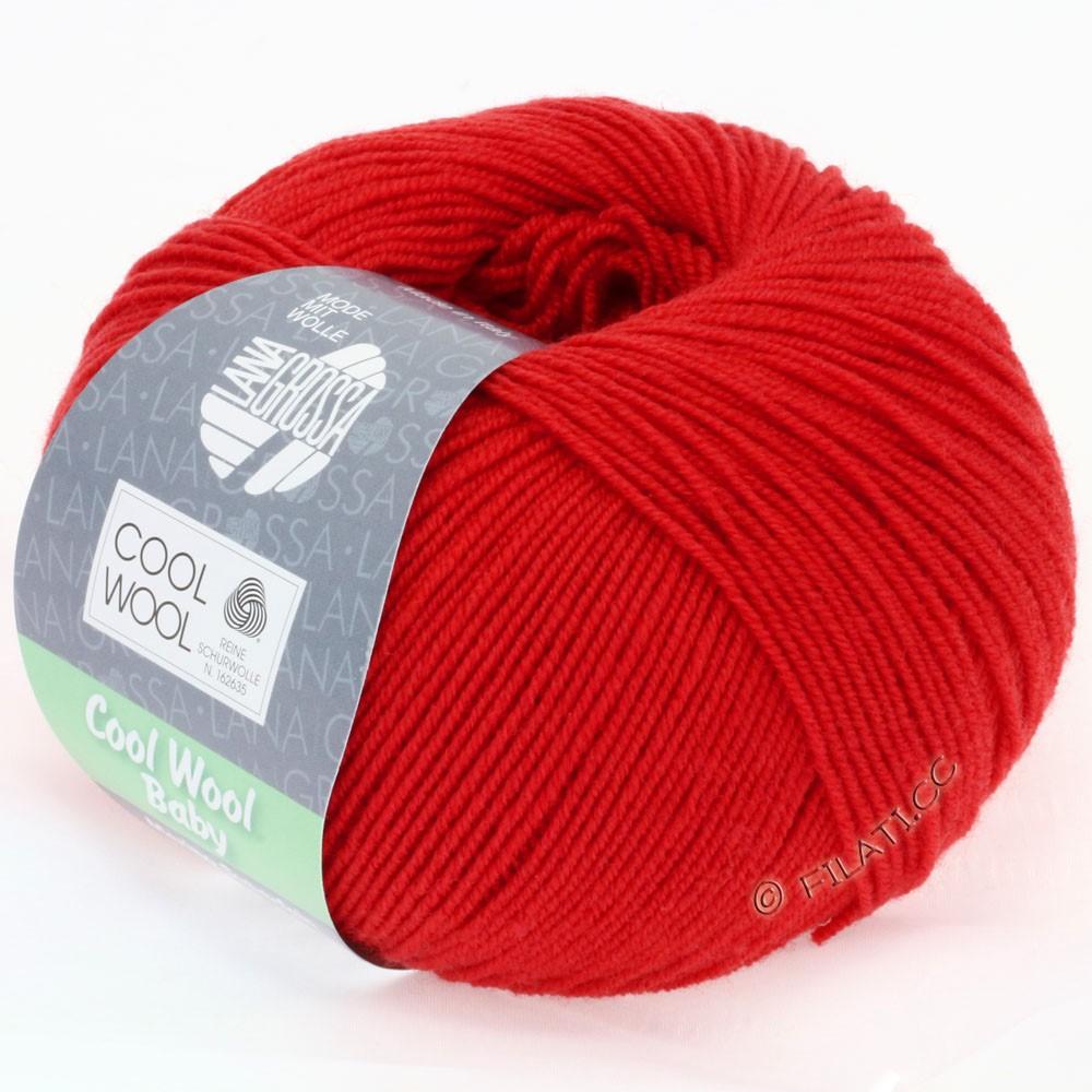 Lana Grossa COOL WOOL Baby | 221-cherry red