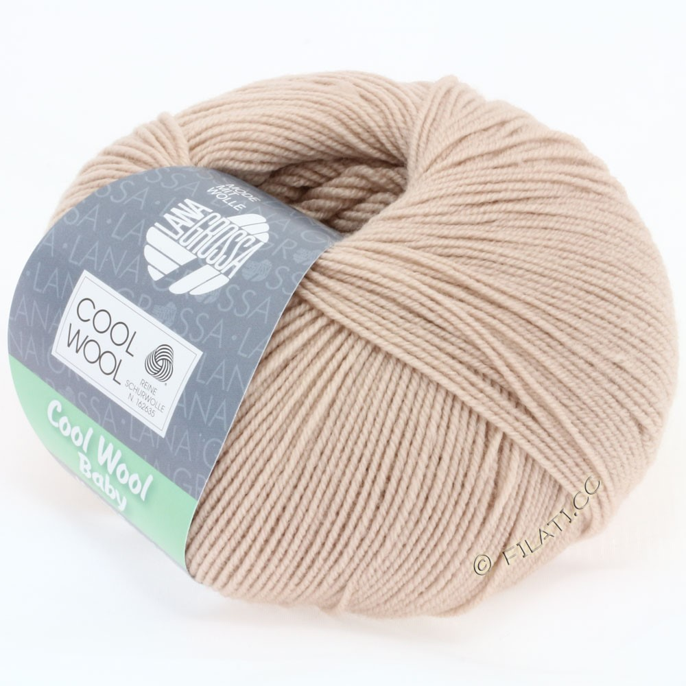 Lana Grossa COOL WOOL Baby Uni/Degradè | 227-beige