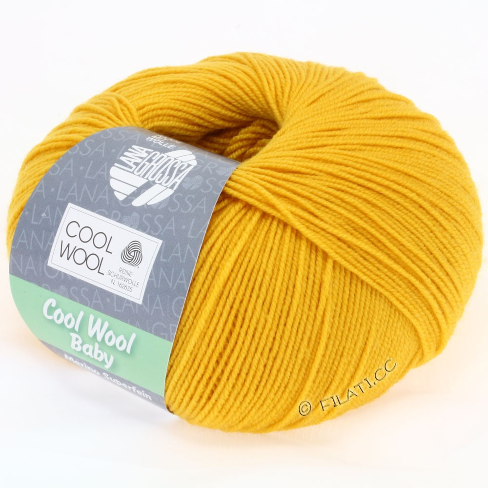 Lana Grossa COOL WOOL Baby | 238-corn yellow
