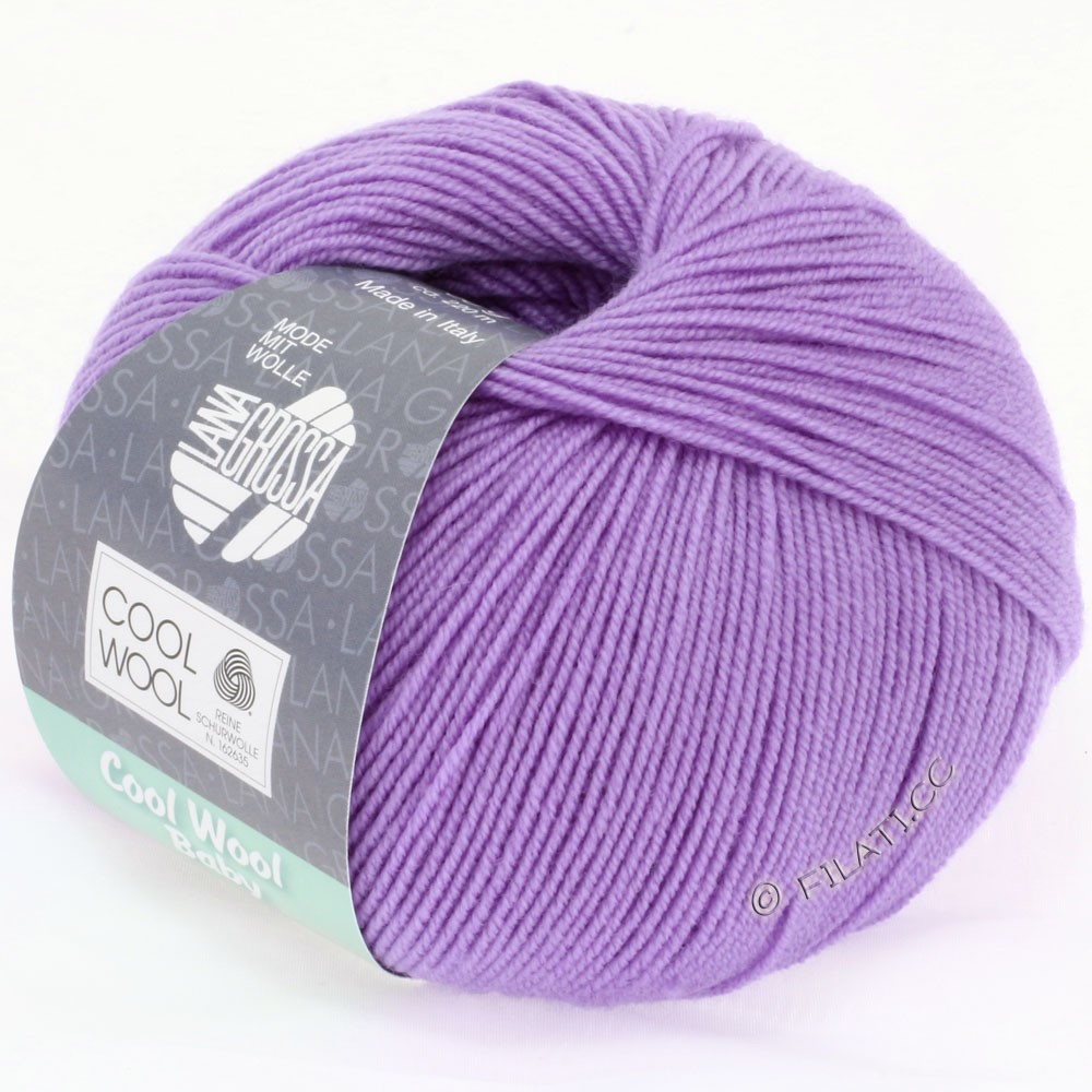 Lana Grossa COOL WOOL Baby Uni/Degradè | 240-purple