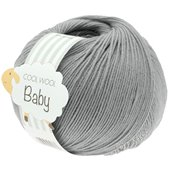 Lana Grossa COOL WOOL Baby | 241-light gray