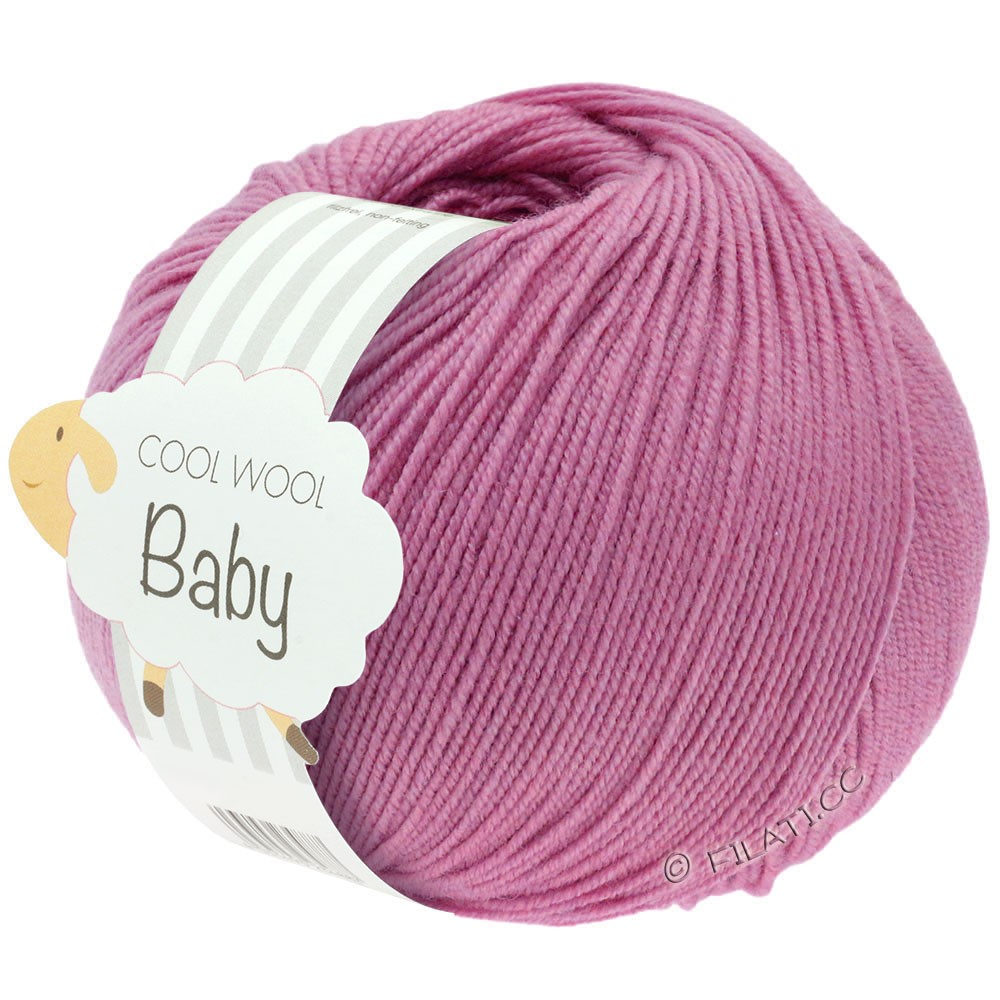 Lana Grossa COOL WOOL Baby Uni/Degradè | 242-heather