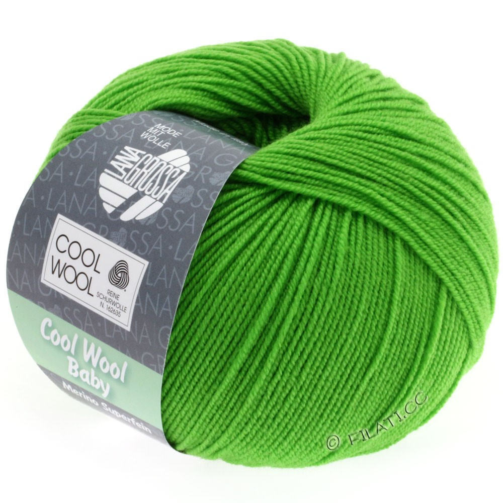 Lana Grossa COOL WOOL Baby Uni/Degradè | 245-green