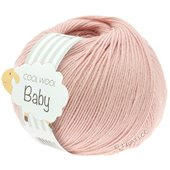 Lana Grossa COOL WOOL Baby | 246-frosted pink