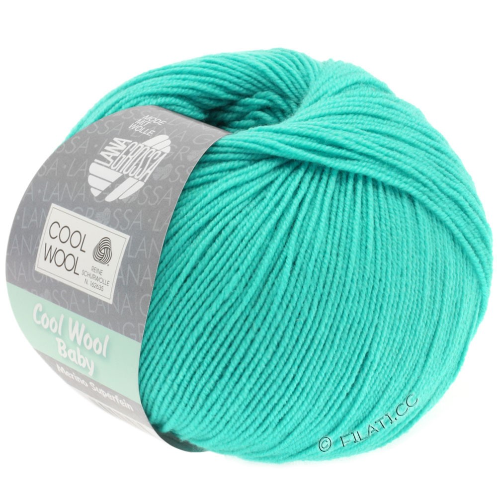 Lana Grossa COOL WOOL Baby | 251-turquoise