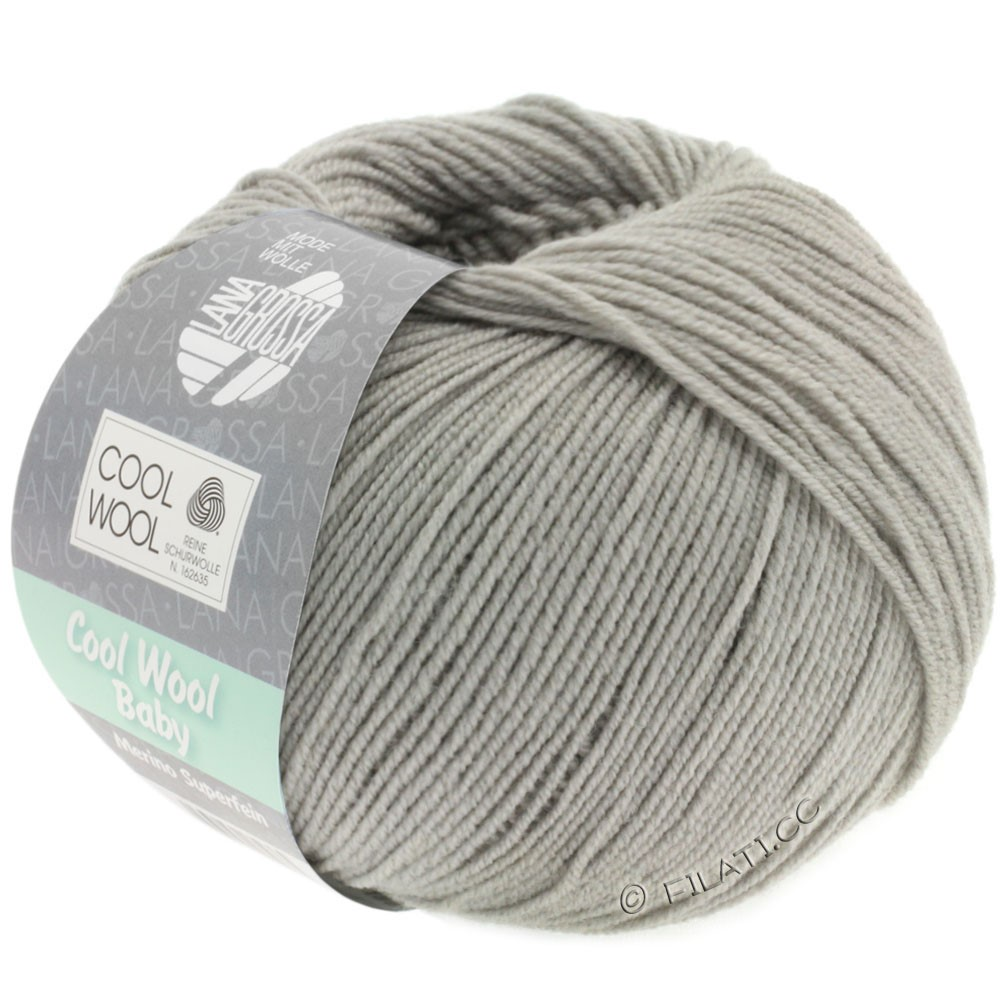 Lana Grossa COOL WOOL Baby Uni/Degradè | 252-stone gray