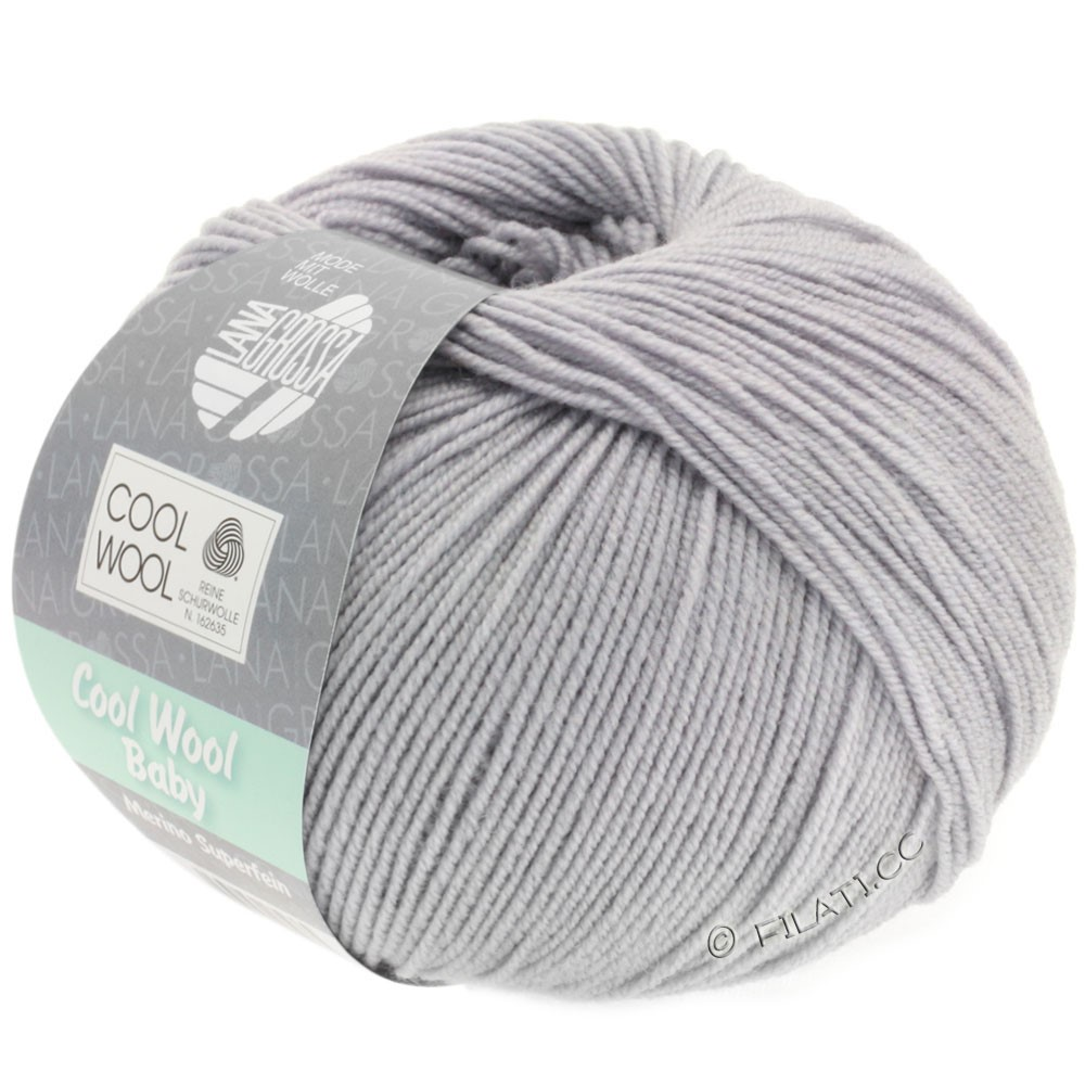 Lana Grossa COOL WOOL Baby | 254-gray lilac