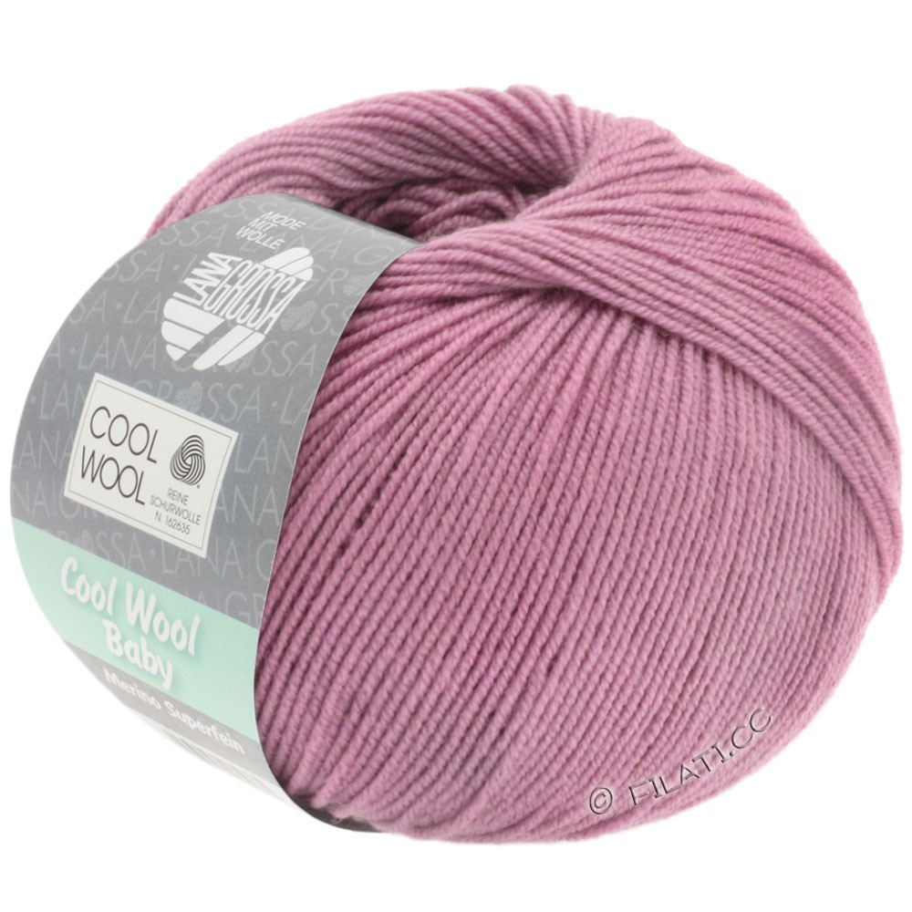 Lana Grossa COOL WOOL Baby | 255-lilac