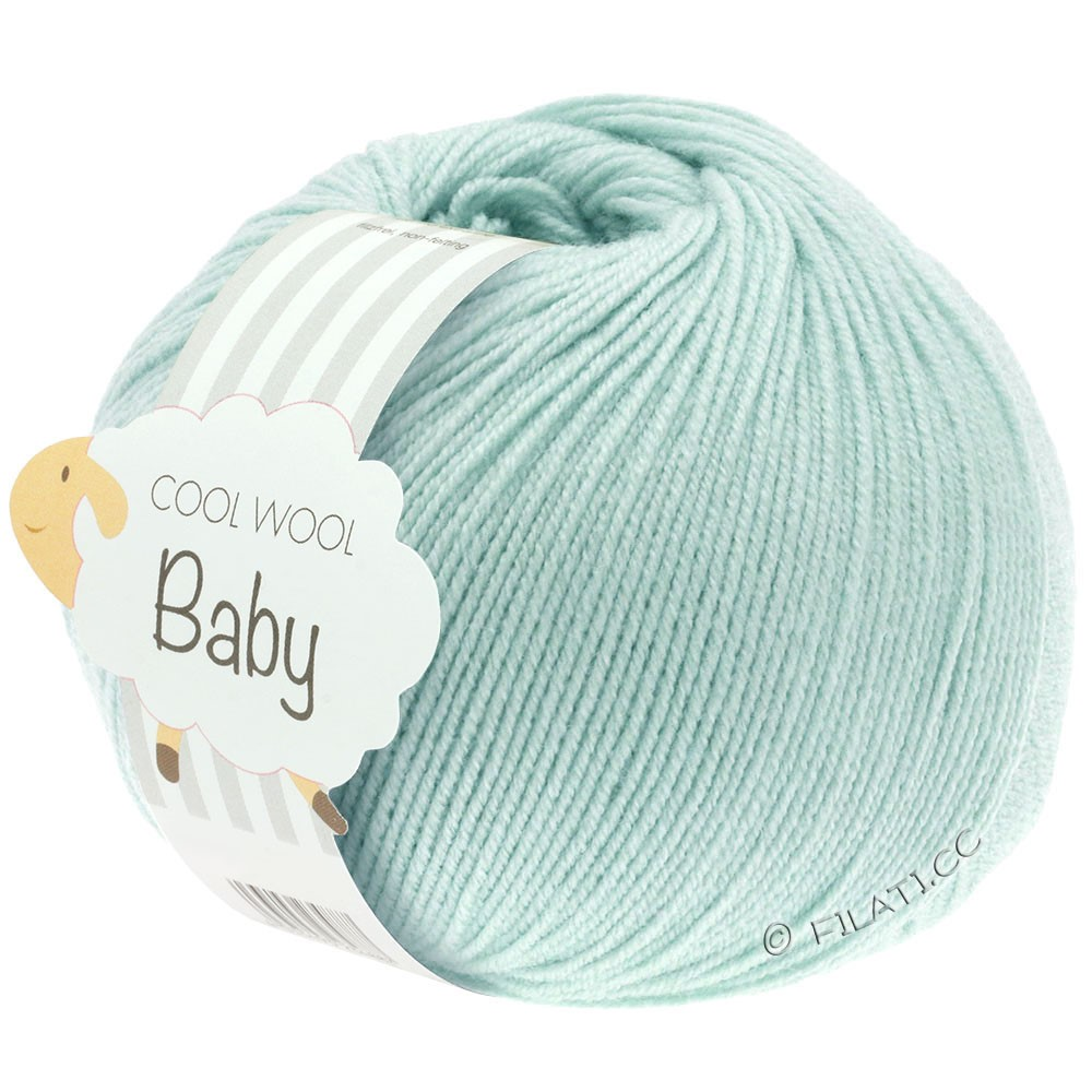 Lana Grossa COOL WOOL Baby Uni/Degradè | 257-pale green