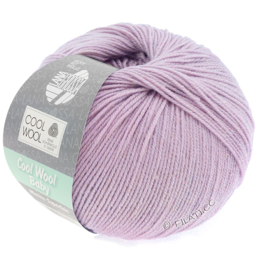Lana Grossa COOL WOOL Baby Uni/Degradè | 258-mauve
