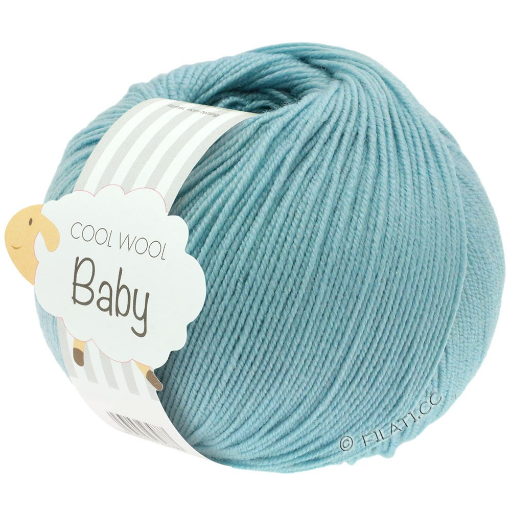 Lana Grossa COOL WOOL Baby Uni/Degradè | 261-mint