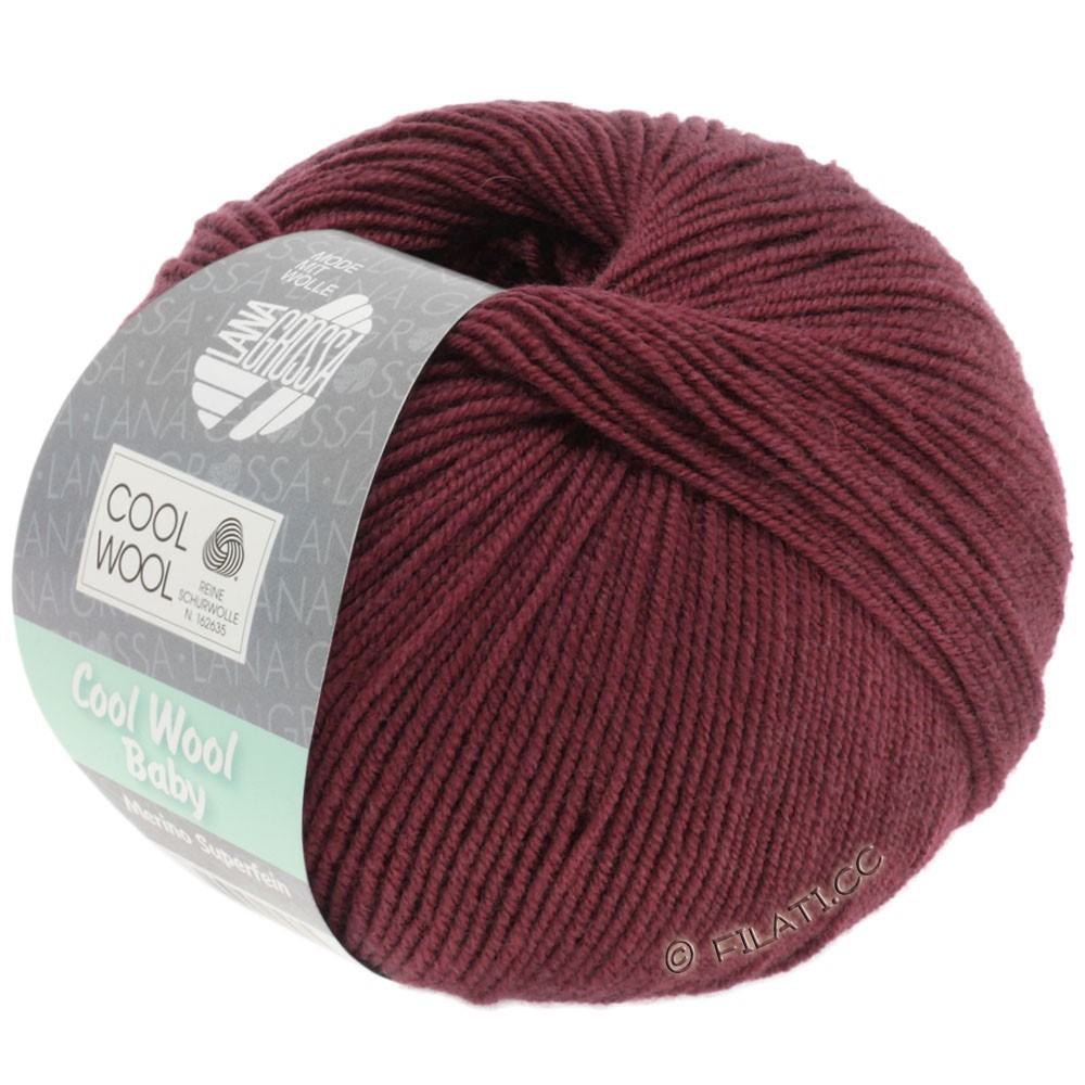 Lana Grossa COOL WOOL Baby | 262-burgundy