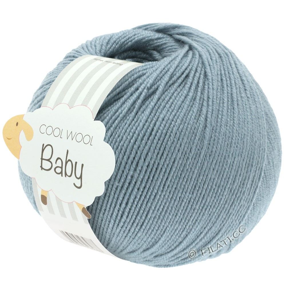Lana Grossa COOL WOOL Baby | 264-gray blue