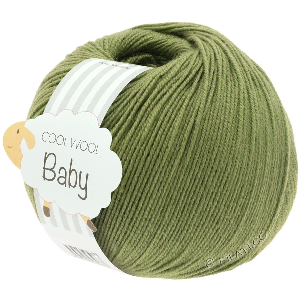 Lana Grossa COOL WOOL Baby | 266-hay green