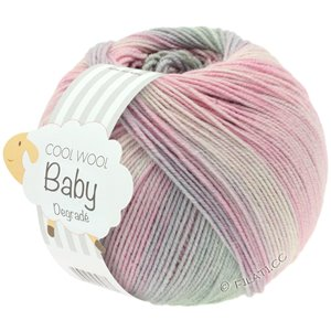 Lana Grossa COOL WOOL Baby Dégradé | 508-subtle rose/carnation/light gray/lilac
