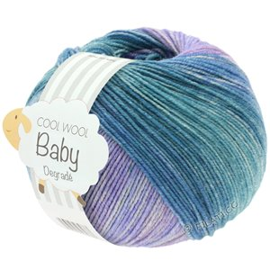 Lana Grossa COOL WOOL Baby Dégradé | 513-light petrol/lilac/pastel rose