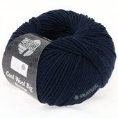 Lana Grossa COOL WOOL big uni/melange | 314-navy mix