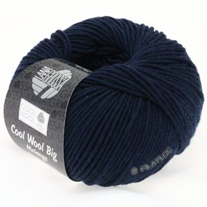 Lana Grossa COOL WOOL Big  Uni/Melange | 0314-navy mottled