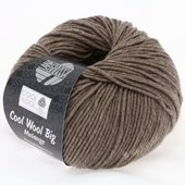 Lana Grossa COOL WOOL big uni/melange | 315-taupe mix