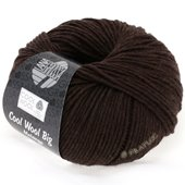 Lana Grossa COOL WOOL big uni/melange | 323-mocha mix