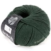 Lana Grossa COOL WOOL big uni/melange | 324-dark green mix