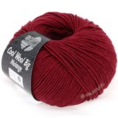 Lana Grossa COOL WOOL big uni/melange | 325-ruby mix