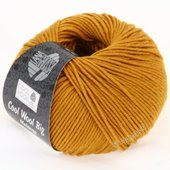 Lana Grossa COOL WOOL big uni/melange | 326-saffron yellow mix