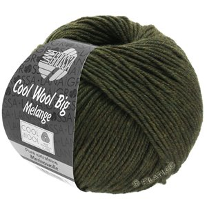 Lana Grossa COOL WOOL Big  Uni/Melange | 0346-loden mottled