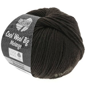 Lana Grossa COOL WOOL Big  Uni/Melange | 0349-mocha mottled