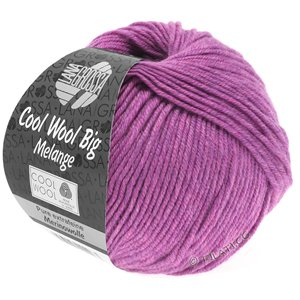Lana Grossa COOL WOOL Big  Uni/Melange | 0351-lilac mottled
