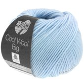 Lana Grossa COOL WOOL big uni/melange | 604-light blu