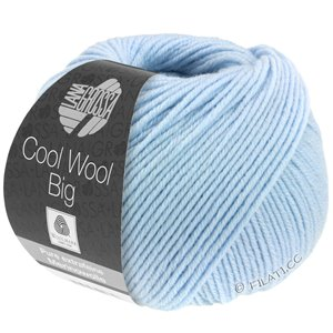 Lana Grossa COOL WOOL Big  Uni/Melange | 0604-light blue