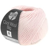 Lana Grossa COOL WOOL big uni/melange | 605-rose