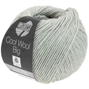 Lana Grossa COOL WOOL Big  Uni/Melange | 0616-light gray mottled