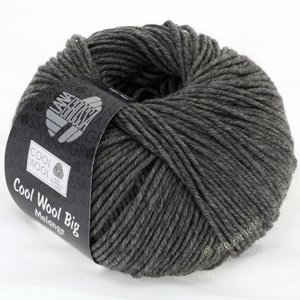 Lana Grossa COOL WOOL Big  Uni/Melange | 0617-dark gray mottled