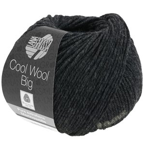 Lana Grossa COOL WOOL Big  Uni/Melange | 0618-anthracite