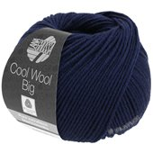 Lana Grossa COOL WOOL big uni/melange | 630-navy