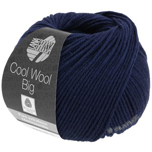Lana Grossa COOL WOOL Big  Uni/Melange | 0630-night blue